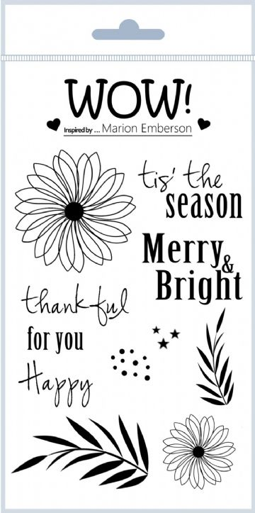 Thankful (by Marion Emberson) - Clear Stamp Set